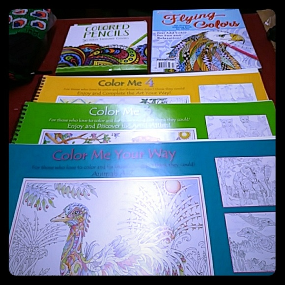 Color Me Flying Colors Coloring Books Pencils